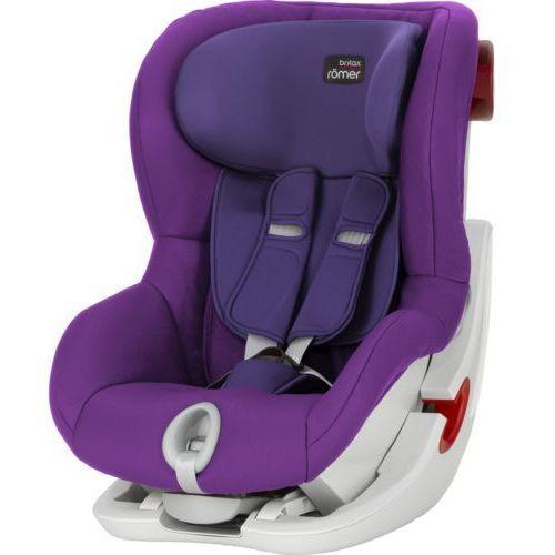Britax römer Britax rÖmer fotelik samochodowy king ii mineral purple