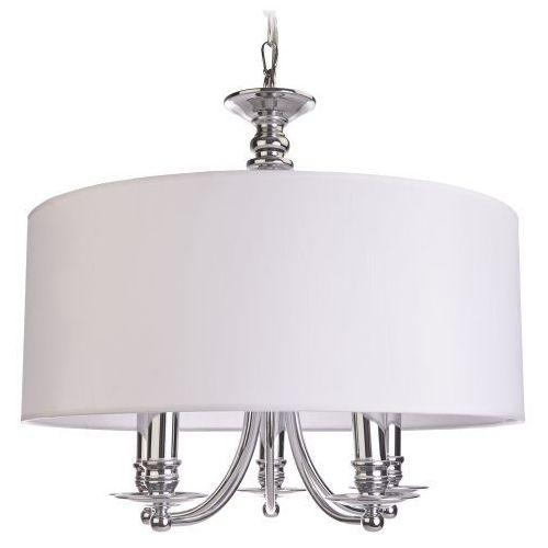 Lampa wisząca ABU DHABI - P05406WH - Cosmo Light - Rabat w koszyku, kolor Biały