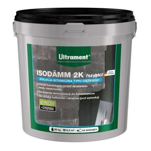 Izolacja bitumiczna grubowarstwowa isodamm 2k szybki 28 kg marki Ultrament