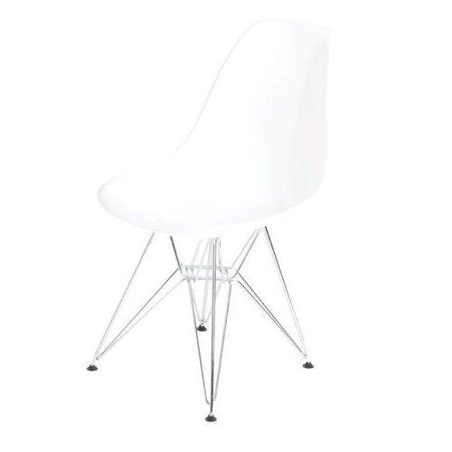 D2.design Krzesło p016 pp inspirowane dsr - biały (5902385702065)