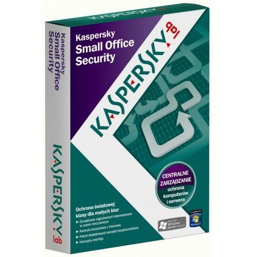 Kaspersky small office security 1y 10ws + 1svr kl4533pbkfs
