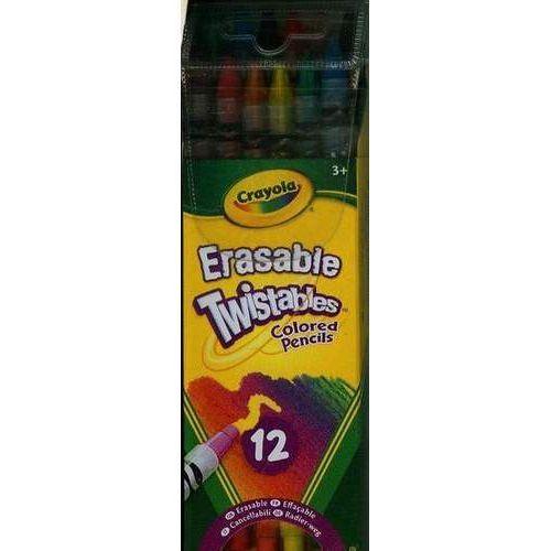 Kredki ołówkowe Twistables 12 sztuk