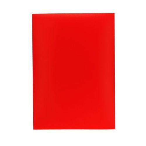 Idest Okładka bindowania czerwona 250g chromolux