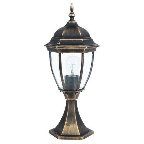 Rabalux Lampa stołowa zewnętrzna ogrodowa toronto 1x100w e27 ip44 antyczne złoto 8383 (5998250383835)