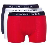 Polo Ralph Lauren 3-pack Bokserki Niebieski Czerwony Biały XL (3607997816590)