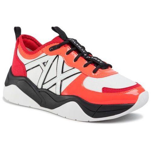 Sneakersy - xdx039 xv311 d957 orange/coral, Armani exchange, 36-41