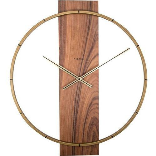 Zegar ścienny Carl Nextime brązowy (3195 BR)