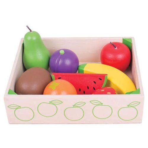 Bigjigs toys Drewniane owoce do zabawy dla dzieci, bigjigs