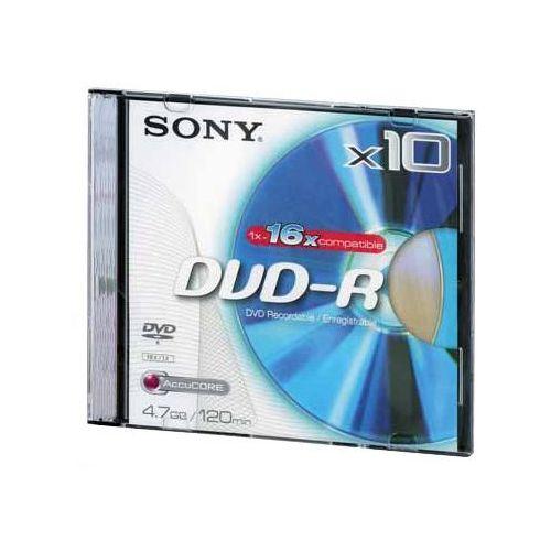 Płyta DVD-R SONY DMR-47BSL + Zamów z DOSTAWĄ JUTRO!