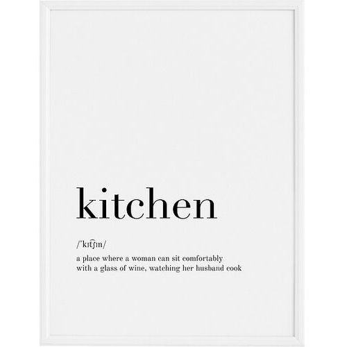 Plakat Kitchen 50 x 70 cm, FBKIT5070