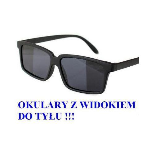 Spy Przeciwsłoneczne szpiegowskie okulary detektywa/agenta fbi z widokiem do tyłu!!