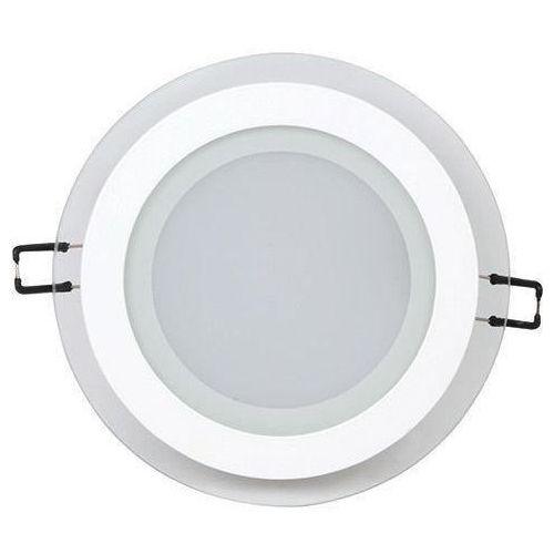 Ideus Oczko lampa sufitowa hl688lg 02572 podtynkowa oprawa led 12w okrągły wpust biały