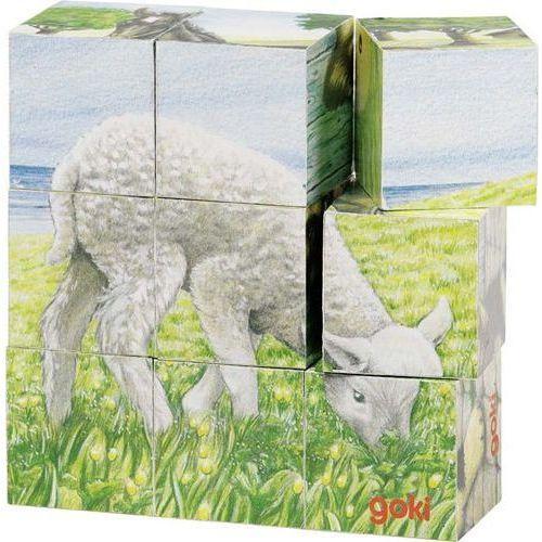 GOKI Układanka -zwierzęta wiejskie