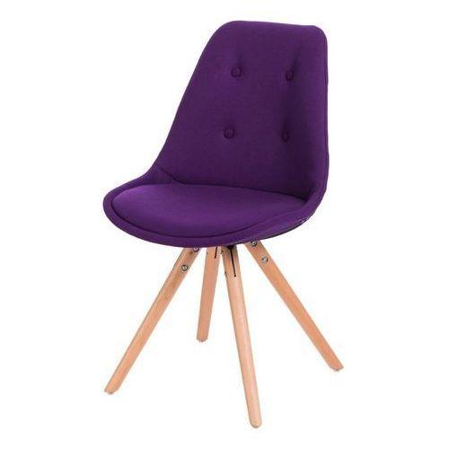 Domfan design Krzesło norden star pikowane fioleto (5902385710510)