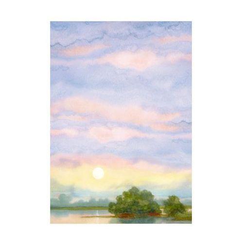 Kanwa niebo fiolet 70 x 100 cm marki Art canvas