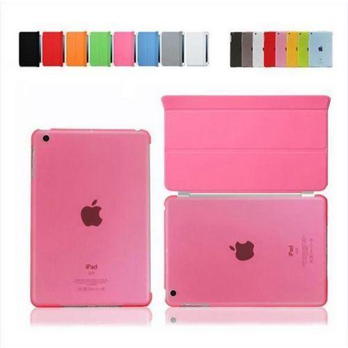 SMART COVER + BACK iPad AIR 2 różowy - różowy, kolor SMART
