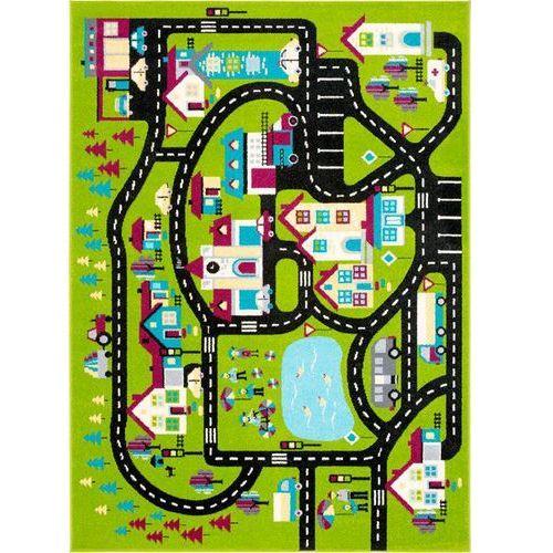 Dywan Agnella Funky Top Super Miasto C Zielony 160x220
