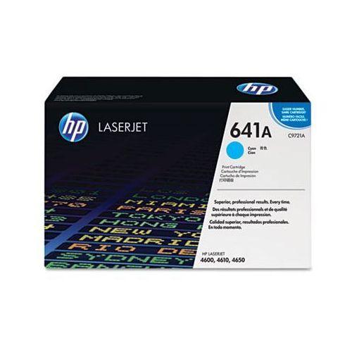 Toner Oryginalny 641A Błękitny do HP Color LaserJet 4610 - DARMOWA DOSTAWA w 24h
