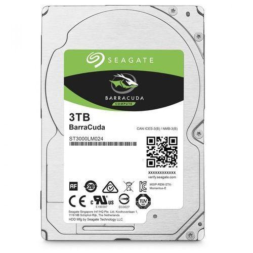 Seagate BarraCuda 3TB 2,5'' 128MB ST3000LM024