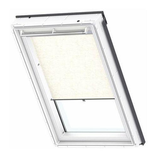 Velux Roleta na okno dachowe dekoracyjna standard rhl pk08 94x140 na haczykach naturalna
