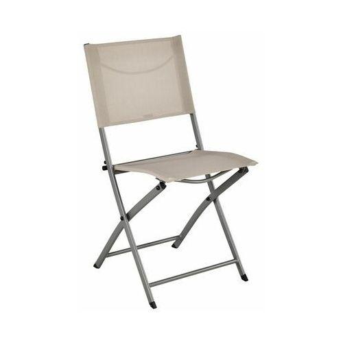 Krzesło ogrodowe składane EMYS NATERIAL beżowe (3276000400615)