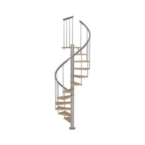 Dolle Schody spiralne montreal classic 2 dąb multiplex 120 cm (5907222465653)