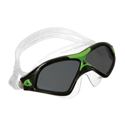 Aquasphere okulary-maska Seal XP 2 ciemne szkła, black-green