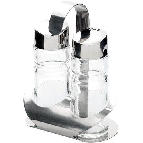 Stalgast Zestaw 2-elementowy do przypraw (sól, pieprz)   , 362001