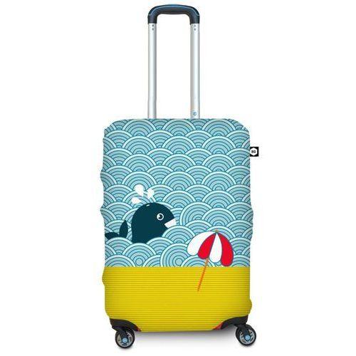Bg berlin Pokrowiec na walizkę m - light whale