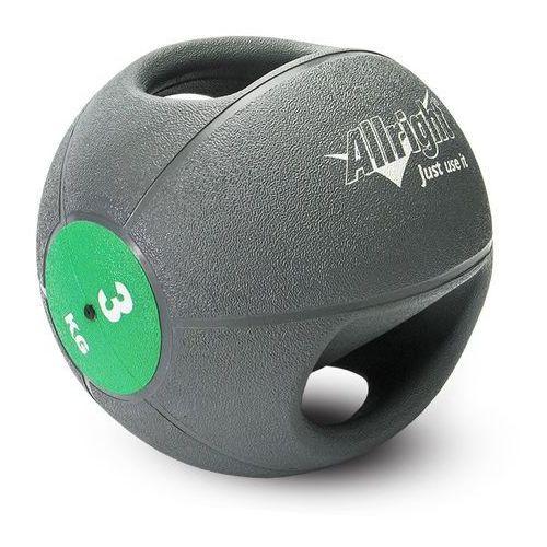 Piłka lekarska z uchwytami Allright 3 kg