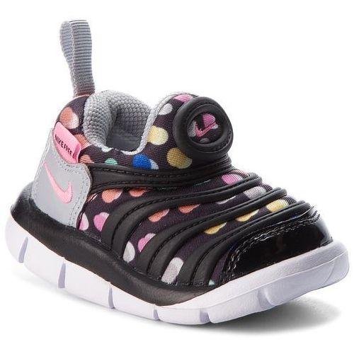 Buty - dynamo free print (td) 834366 003 black/pink beam/wolf grey marki Nike