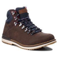Trapery - outdoor hiking detail boot fm0fm01755 coffee 211, Tommy hilfiger, 40-46