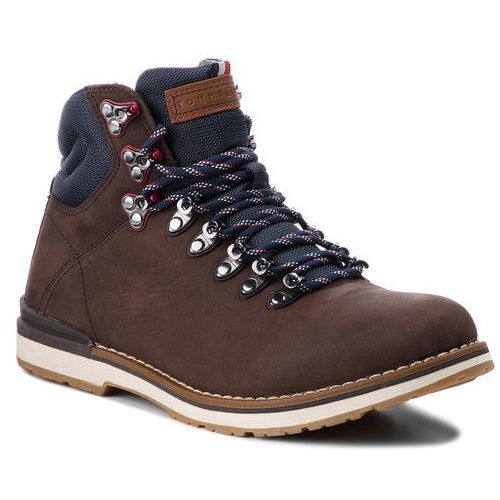 Trapery TOMMY HILFIGER - Outdoor Hiking Detail Boot FM0FM01755 Coffee 211