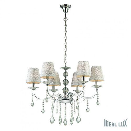 lampa wisząca pantheon sp6 - 088051 marki Ideal lux