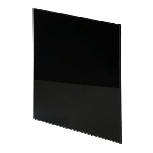 Panel do wentylatora Awenta Trax Glass fi 125 mm czarny, PTGB125P