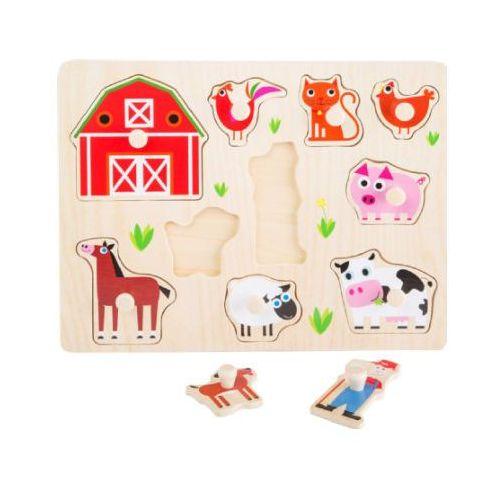 Small foot design Puzzle farma - kreatywna układanka dla dzieci (4020972104441)
