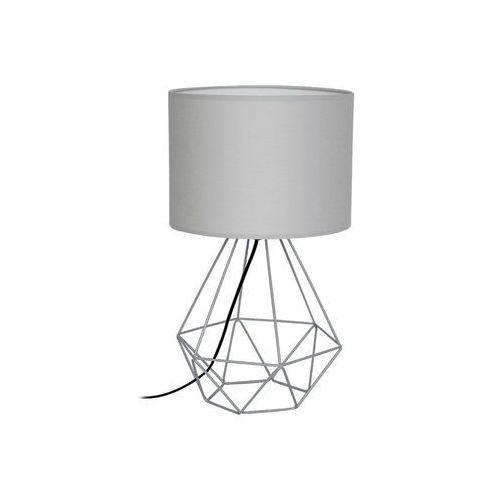 Decoland Lampa stołowa basket 1xe27/60w/230v szary (5907565972023)