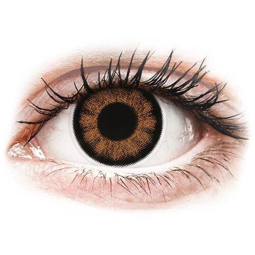 OKAZJA - ColourVUE BigEyes Sexy Brown - korekcyjne (2 soczewki) (9555644802592)