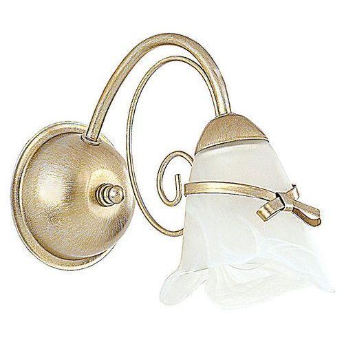 Kinkiet lampa ścienna Luminex Kokarda 1x60W E14 złoty 0070, 0070