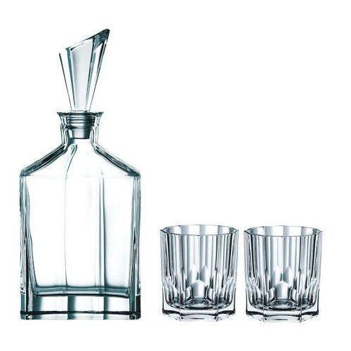 Spiegelau & Nachtmann Aspen karafka na alkohol ze szklankami 3el (4003762228510)