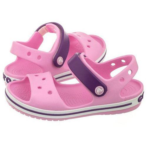 Sandałki crocband sandal kids carnation/amethyst 12856-6al (cr39-i) marki Crocs