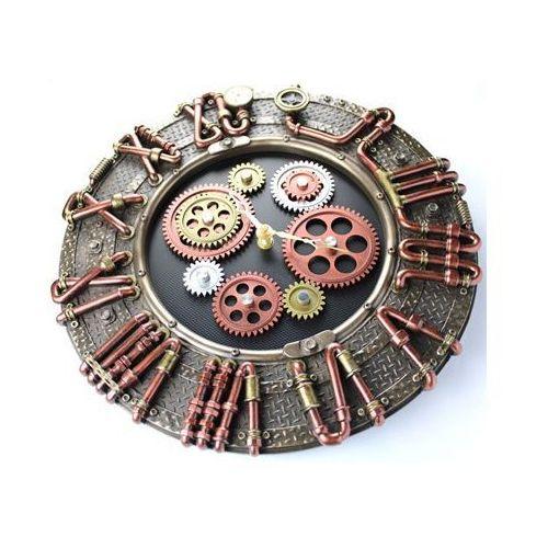 Zegar Ścienny Steampunk Maszyna Hydraulik Prezent