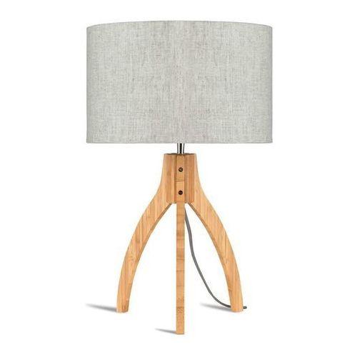 Annapurna-lampa statyw bambus & len naturalny wys.54cm marki Good & mojo