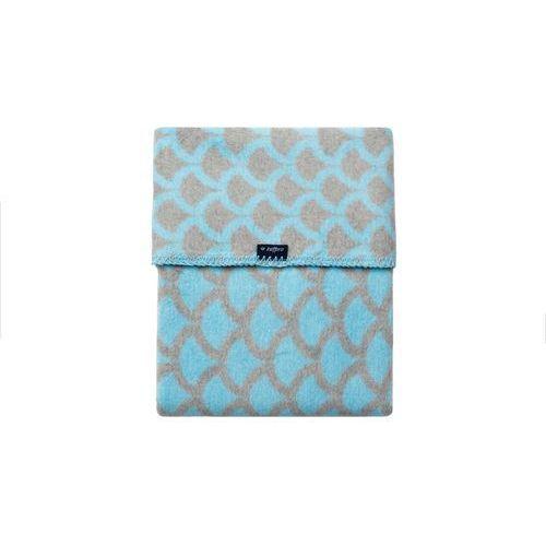 Womar Koc 100% bawełna 75X100 Półkola niebieski/szary- wysyłamy do 18:30 (5902745540740)