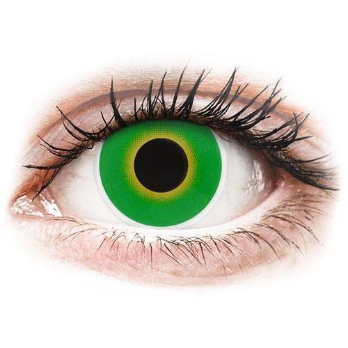 Soczewki kolorowe zielone HULK GREEN Crazy Lens 2 szt. (9555644810894)