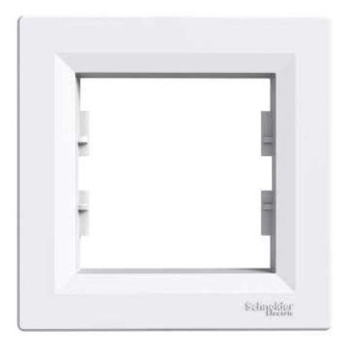 Asfora ramka Schneider pojedyncza biała EPH5800121 (3606480527166)