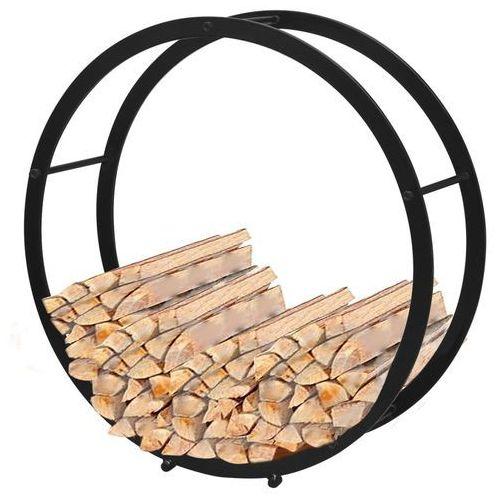 vidaXL Okrągły stojak, kosz na drewno kominkowe (8718475951803)