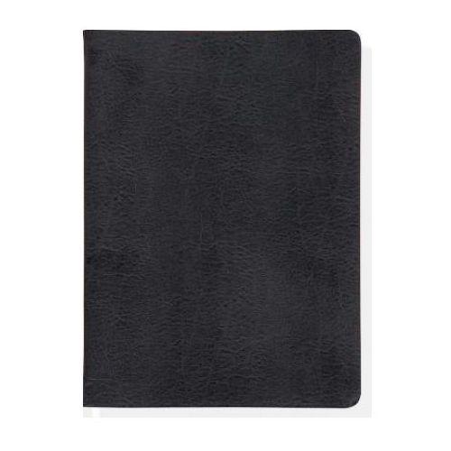 Leather Journal Flanders Black, oprawa skórzana