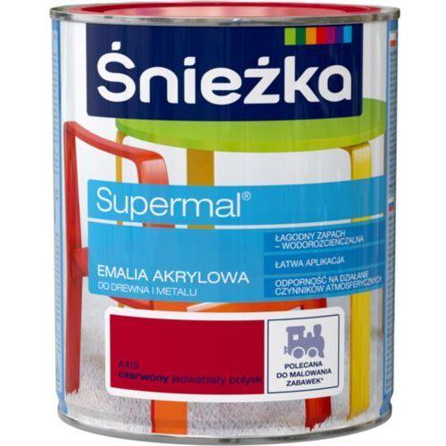 Śnieżka supermal® emalia akrylowa jedwabisty połysk marki Ffil śnieżka s.a.