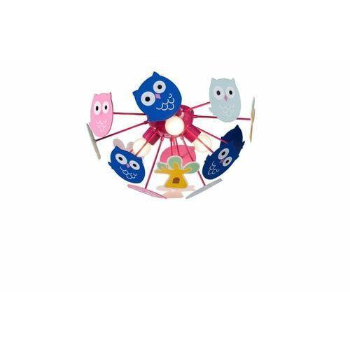 Birdy 3xE14 Dziecięca lampa sufitowa Rabalux 6389 (5998250363899)